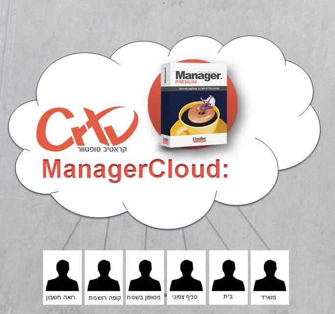 תוכנת Manager Cloud לניהול העסק מכל מקום
